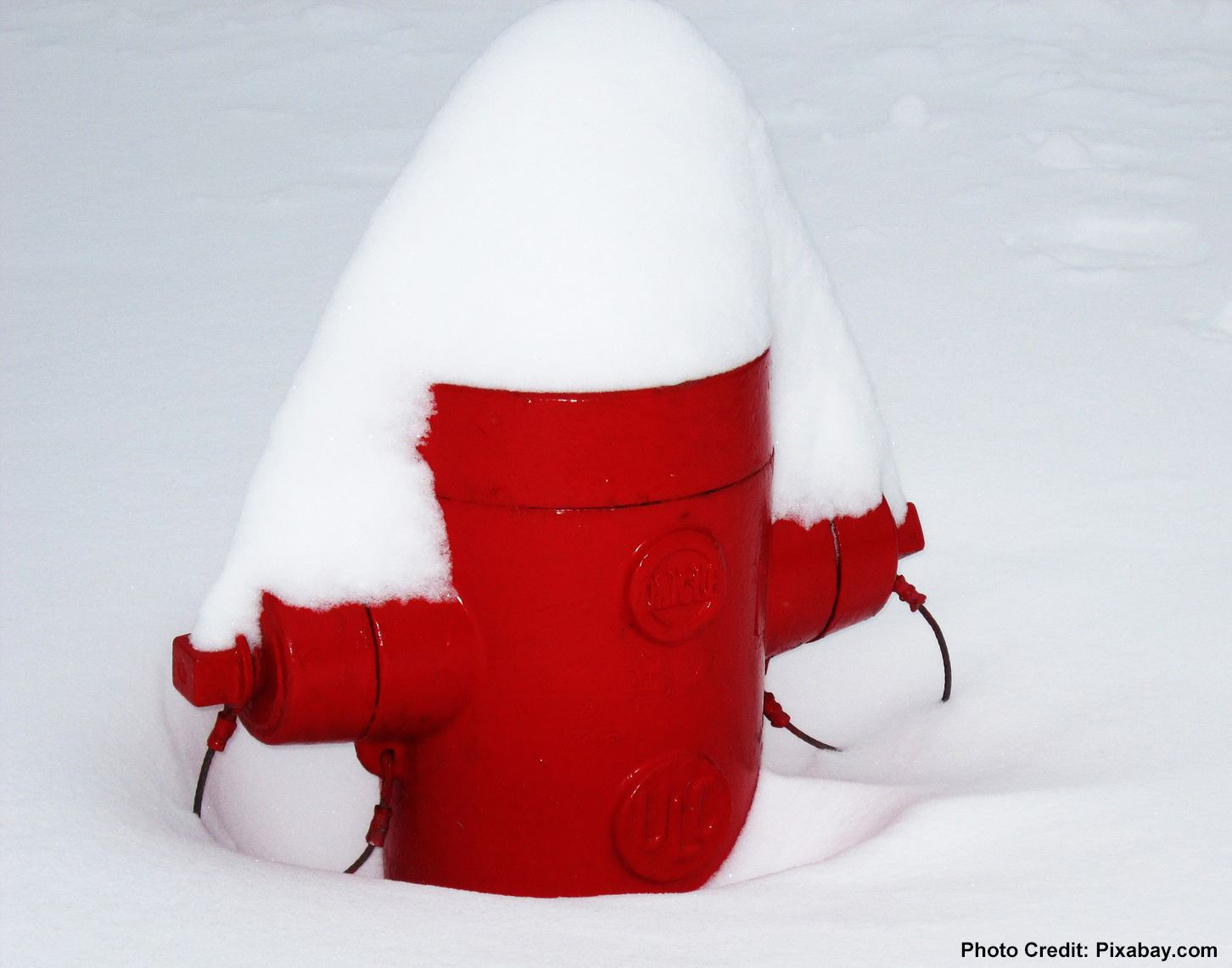 Fire Hydrant Covered with Snow